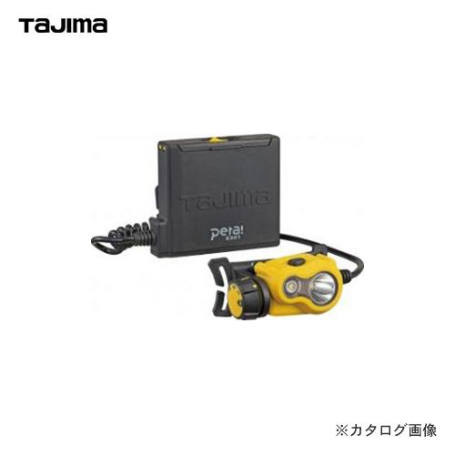 タジマツール Tajima ペタLEDヘッドライトE301 イエロー LE-E301-Y