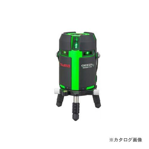 タジマツール Tajima グリーンレーザー墨出し器 GEEZAセンサー KJC 本体のみ GZAS-KJC
