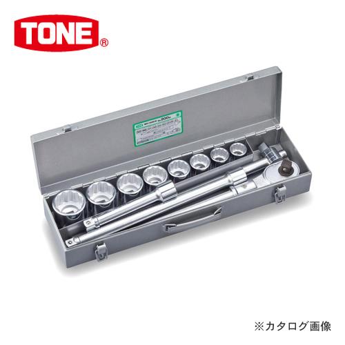 """TONE トネ 19.0mm(3/4"""") ソケットレンチセット [12点] 200M"""