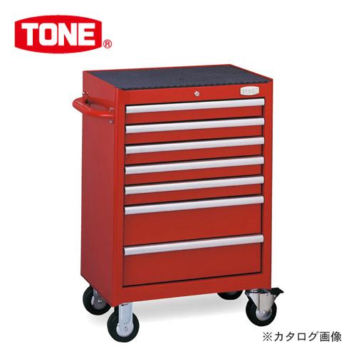 【直送品】TONE トネ ツールキャビネットセット レッド TCX911