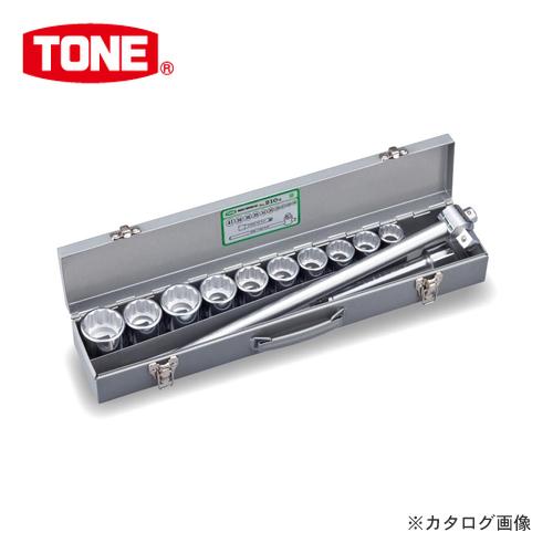 """TONE トネ 19.0mm(3/4"""") ソケットレンチセット [12点] 210M"""
