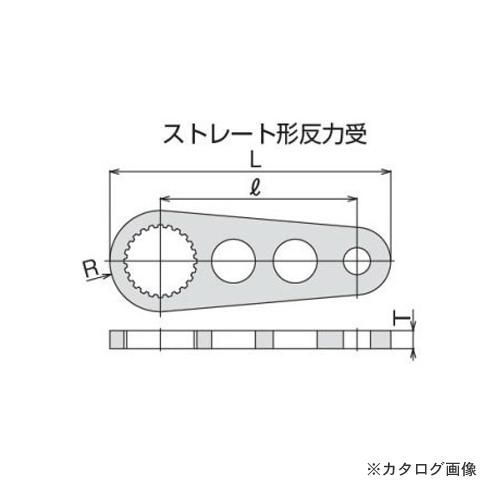トネ TONE パワーデジトルク・電動パワーデジトルク用反力受 30SH
