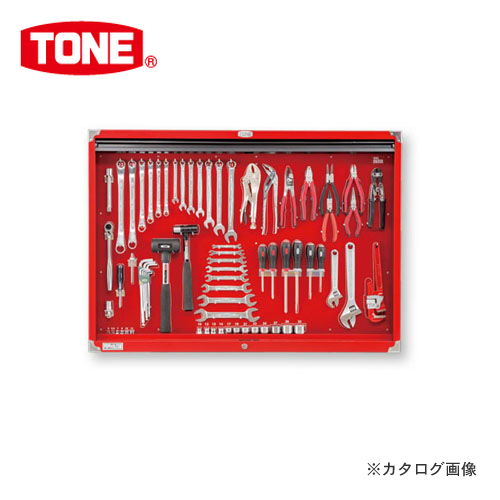 【直送品】TONE トネ シャッター付サービスボードセット C635