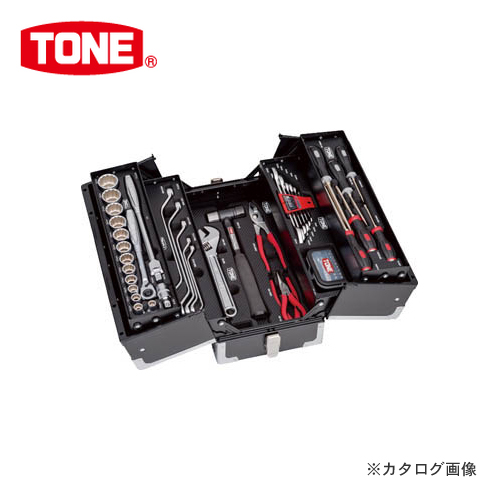【4/1はWエントリーでポイント19倍相当!】TONE トネ ツールセット(マットブラック) TSST430BK