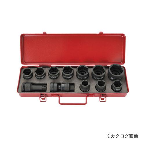 トップ工業 インパクト用ソケットセット PT-1736XUS