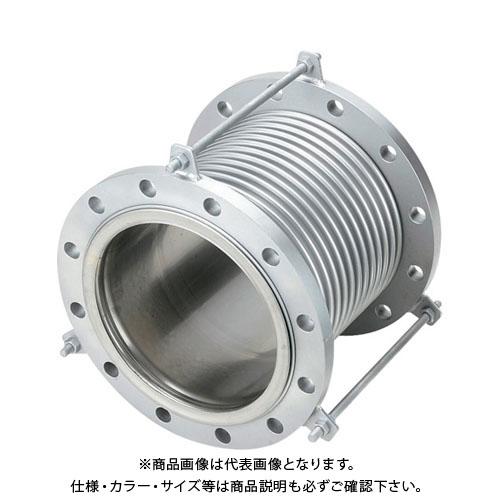 NFK 排気ライン用伸縮管継手 5KフランジSS400 150AX150L NK7300-150-150