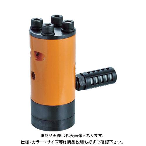 NPK エアーバイブレータ 衝撃式 サイレンサ付き 30053 NLV1518A