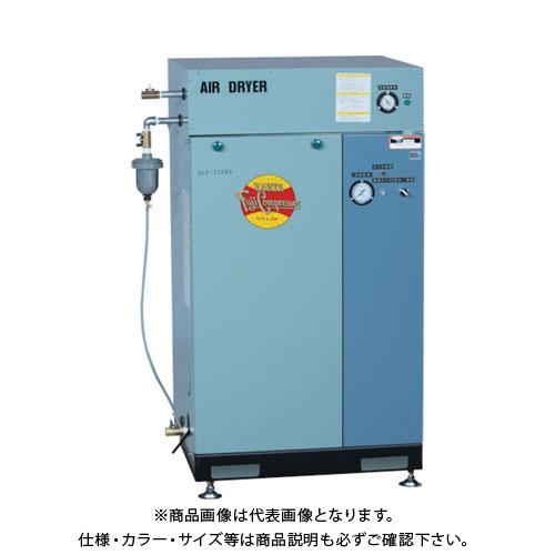 【直送品】富士 ドライヤ付一段圧縮パッケージ形コンプレッサ 60Hz NLP-37PRDMT-6