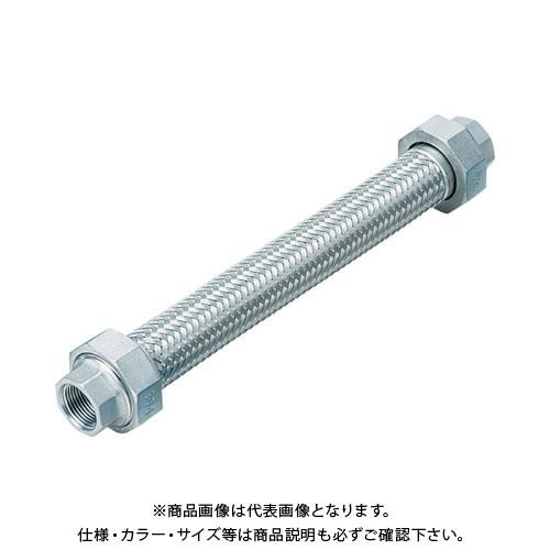NFK ユニオン無溶接式フレキ ALLSUS304 50A×1000L NK113-50-1000