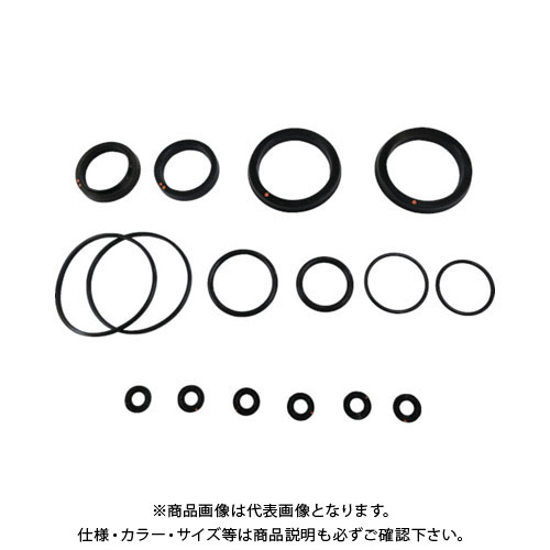 TAIYO 油圧シリンダ用メンテナンスパーツ 適合シリンダ内径:φ125 (水素化ニトリルゴム・標準形用) NH8/PKS6-125B