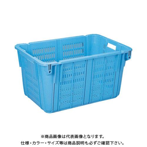 【個別送料1000円】【直送品】 リス プラスケットNo.2100本体 205L 青 NO-2100:B