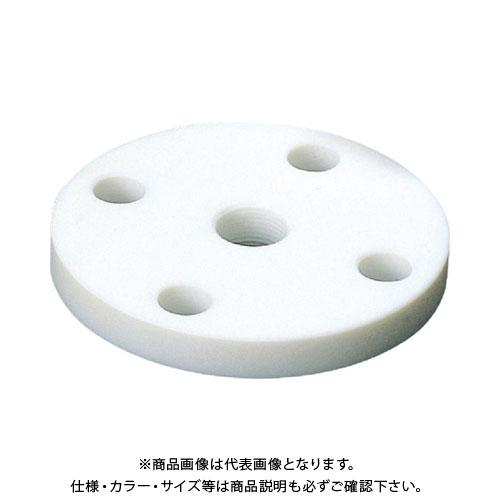 フロンケミカル フッ素樹脂(PTFE)フランジ 20A×10K×RC3/8 NR1405-016