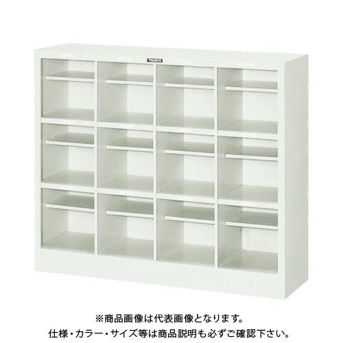 【個別送料2000円】【直送品】 TRUSCO オープンシューズケース 12人用 1006X300XH850 NPS12