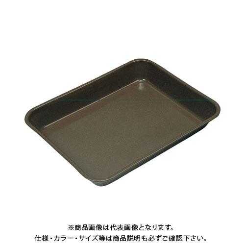 フロンケミカル フッ素樹脂コーティング中浅バット 中浅10 膜厚約50μ NR0375-003