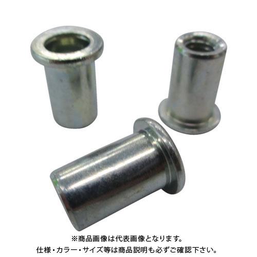エビ ナット Dタイプ スティール 8-4.0 (500個入) NSD840M