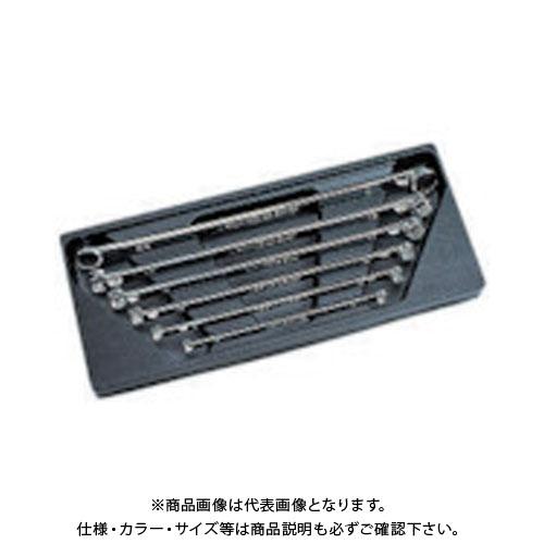ネプロス 超ロングストレートめがねレンチセット[6本組] NTM11L06