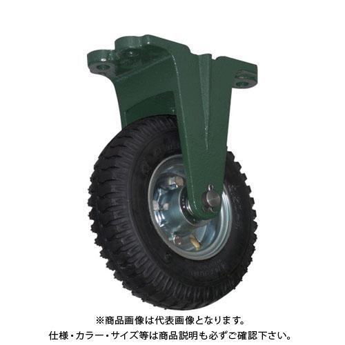 TRUSCO 鋼鉄製運搬車用空気タイヤ 鋳物金具固定Φ223(2.50-4) OARK-223