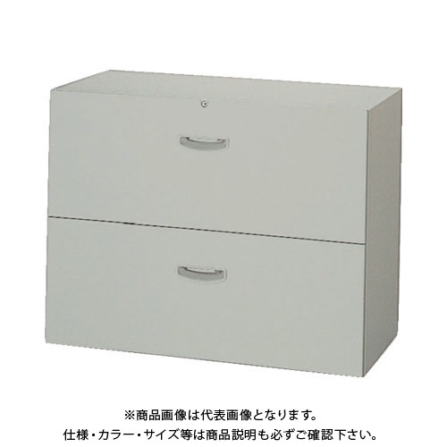 【運賃見積り】【直送品】 ナイキ シェルフウォールファイル引出 NW-0907S-2-AW