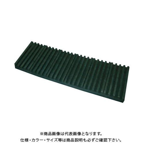 【運賃見積り】【直送品】TRUSCO 防振パット 耐熱・耐油性 ベルトタイプ 15X300X1000 OHL-15-300CR