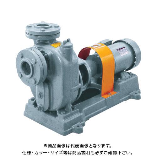 【直送品】寺田 セルプラポンプ 鋳鉄製グランド式 60Hz 1.5kw 全揚程12m O-4GE 60HZ