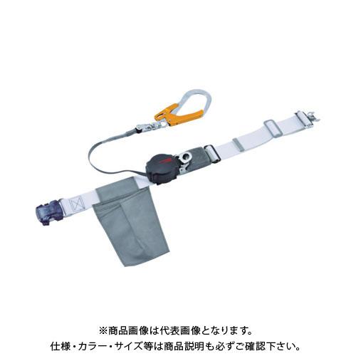 【納期約1ヶ月】ツヨロン なでしこワンハンドリトライト安全帯(OTバックル)ブラックSS寸 ORL-OT593OCSV-BLK-SS-BP