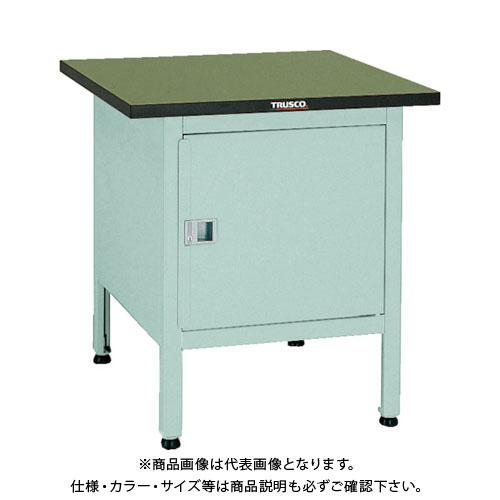 【直送品】 TRUSCO OW型小型作業台 扉付 700X700XH740 OW-7070C