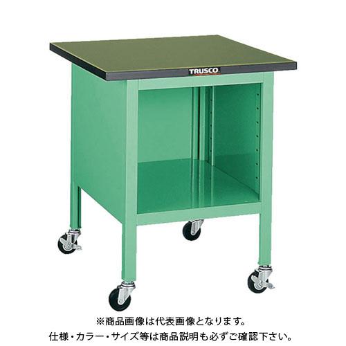 【直送品】 TRUSCO OWC型小型作業台 オープン型 900X750 キャスター付 OWC-9075A