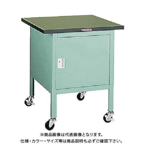 【直送品】 TRUSCO OWC型小型作業台 扉付 900X750 キャスター付 OWC-9075C