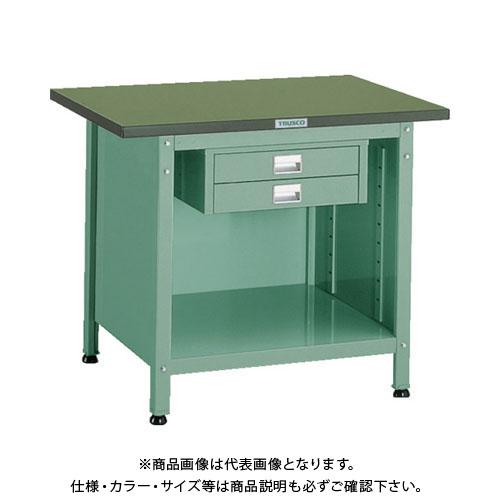 【直送品】 TRUSCO OW型小型作業台 2段引出付 900X600XH740 OW-9060E