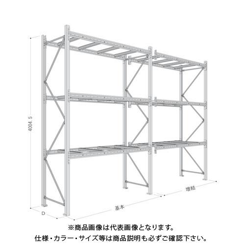 【運賃見積り】【直送品】 NF パレットラック1ton用連結 P6-40X25A08-3B