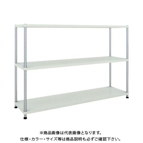 【直送品】 TRUSCO フェニックスラック 1800X450 3段 W色 PER-4643-W