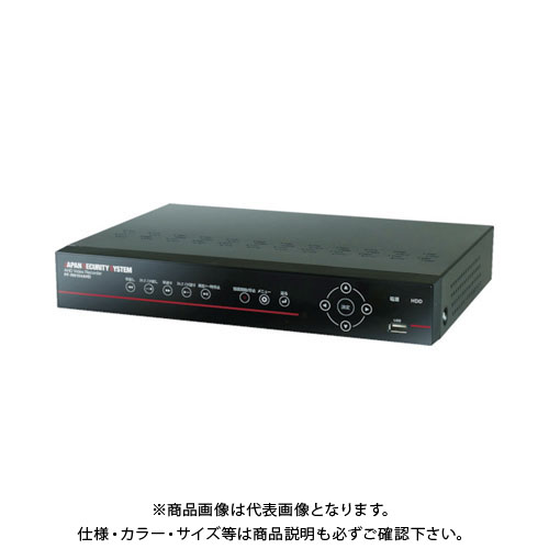 【運賃見積り】【直送品】日本防犯システム AHD 4ch デジタルレコーダー【2TB】PF-RN104AHD
