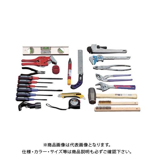 TRUSCO ピカイチ プロ用配管工具セット 24点セット PK-H1