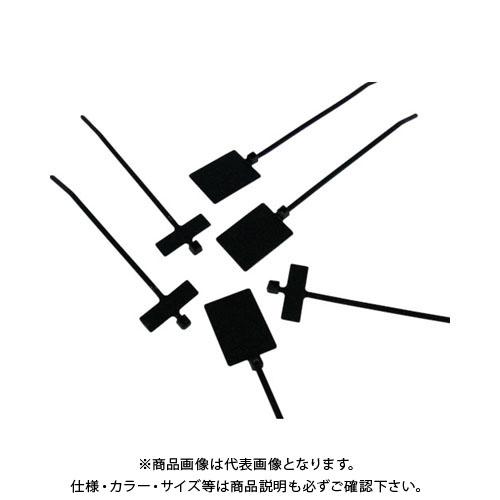 パンドウイット 旗型タイプナイロン結束バンド 耐候性黒 (1000本入) PLM2M-M0