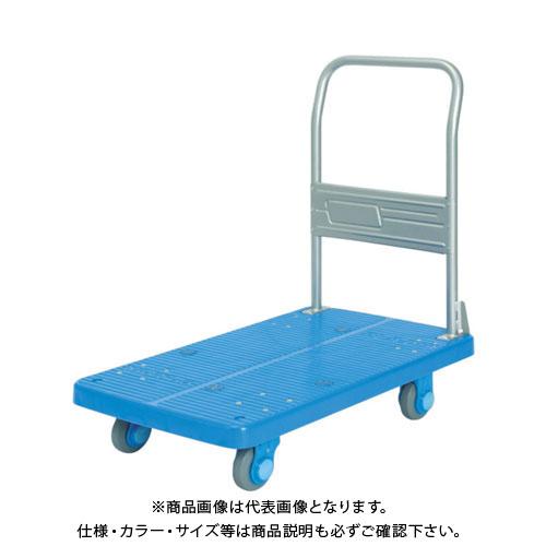 【直送品】カナツー 静音プラ200M1固定式運搬車 PLA200M1