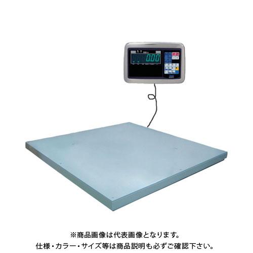 【直送品】ヤマト 超薄形デジタル台はかり PL-MLC9 600kg 1000x1000 PL-MLC9 0.6-1010