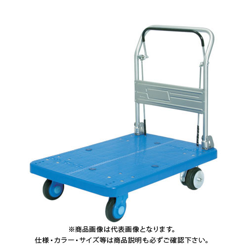 【運賃見積り】【直送品】カナツー 静音プラ300ドラムブレーキ付固定式 PLA300-DB