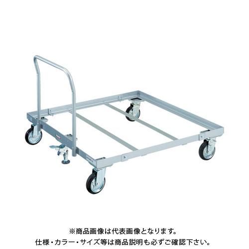 【運賃見積り】【直送品】TRUSCO パレット台車 1100x1100 ハンドル付 S付 PLK-05-1111HS