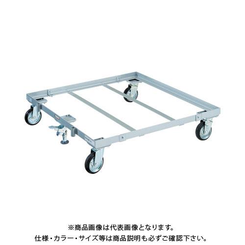 【運賃見積り】【直送品】TRUSCO パレット台車 1100x1100 S付 PLK-05-1111S