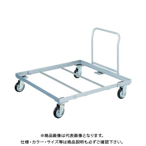 【運賃見積り】【直送品】TRUSCO パレット台車 1200x1000 ハンドル付 PLK-05-1210H