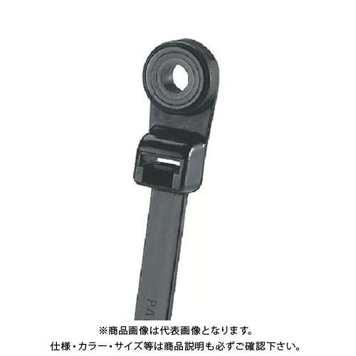 パンドウイット ネジ止めタイプナイロン結束バンド 耐候性黒 (1000本入) PLC1.5I-S8-M0