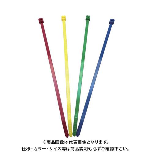 【20日限定!3エントリーでP16倍!】パンドウイット ナイロン結束バンド 赤 (1000本入) PLT3S-M2