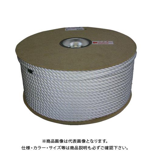 ユタカメイク ナイロン3ツ打ロープドラム巻 9φ×150m PRJ-5
