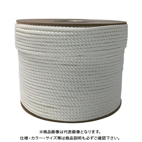 ユタカメイク ビニロンロープドラム巻 6φ×200m PRV-10