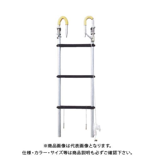 【直送品】KSS ノビテック 延長はしご1.2m(ケーブル工事用) PNO-120-K