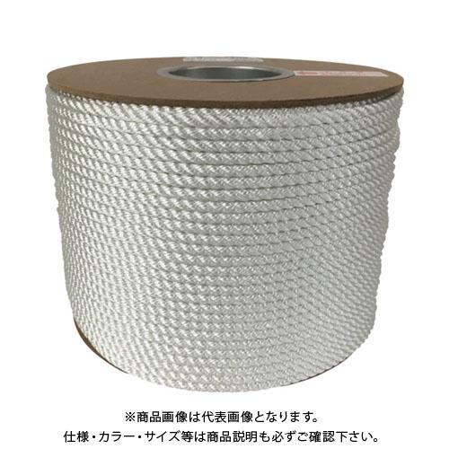 ユタカメイク ナイロン3打ロープドラム巻 6φ×200m PRJ-10