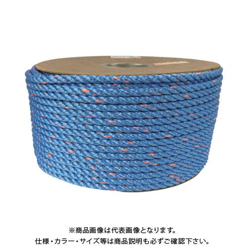 ユタカメイク タストンロープ ブルー ドラム巻 9φ×150m 青 PRVP-52