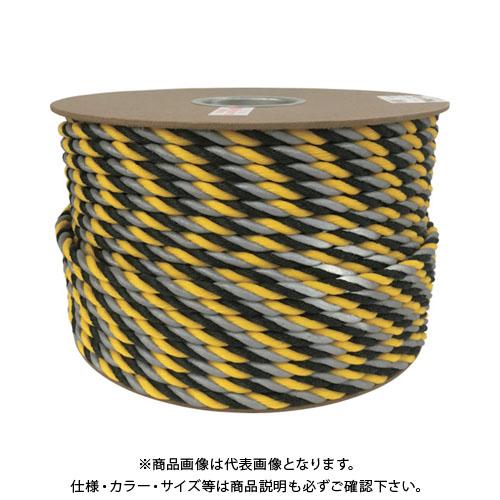 ユタカメイク 反射標識ロープ 12φ×100m PRYH-2