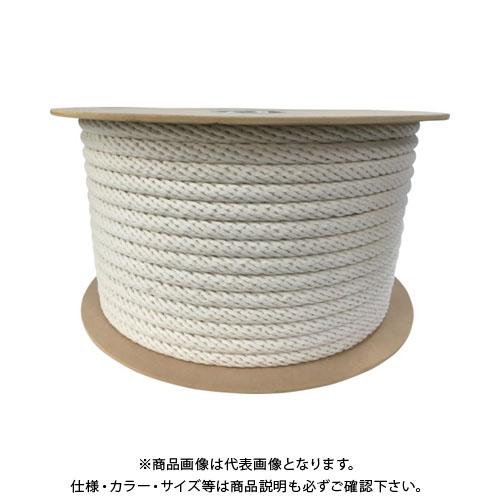 ユタカメイク 綿金剛打ロープドラム巻 16mm×100m PRCX-16