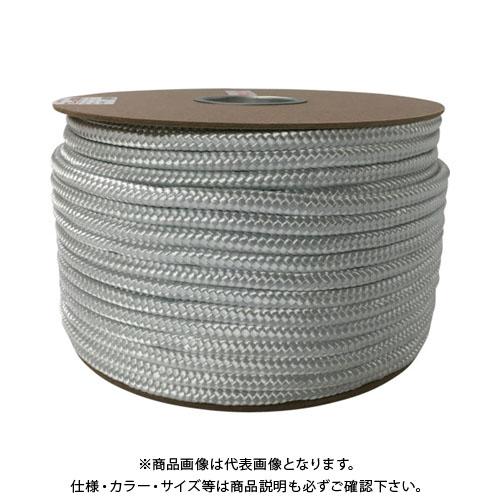 ユタカメイク ナイロン16打ロープドラム巻 12mm×100m PRN-6